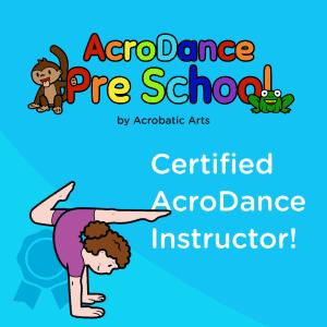 Certified AcroDance Teacher logo